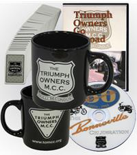 DVDs, Mugs, and other branded items