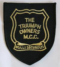 Sew-on patch with Club logo